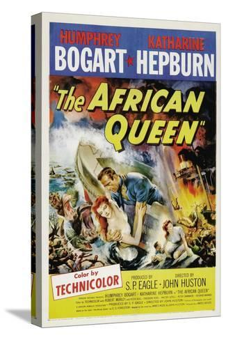 The African Queen, 1951, Directed by John Huston Stretched Canvas Print
