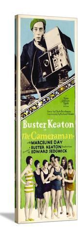 The Cameraman, Buster Keaton, 1928 Stretched Canvas Print