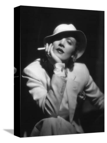 The Devil Is a Woman, Marlene Dietrich, Directed by Josef Von Sternberg, 1935 Stretched Canvas Print