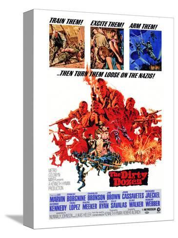 The Dirty Dozen, 1967 Stretched Canvas Print