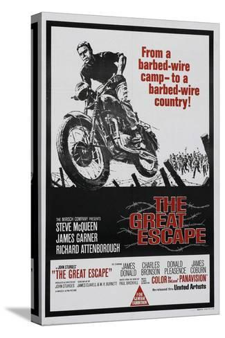 The Great Escape, 1963, Directed by John Sturges Stretched Canvas Print