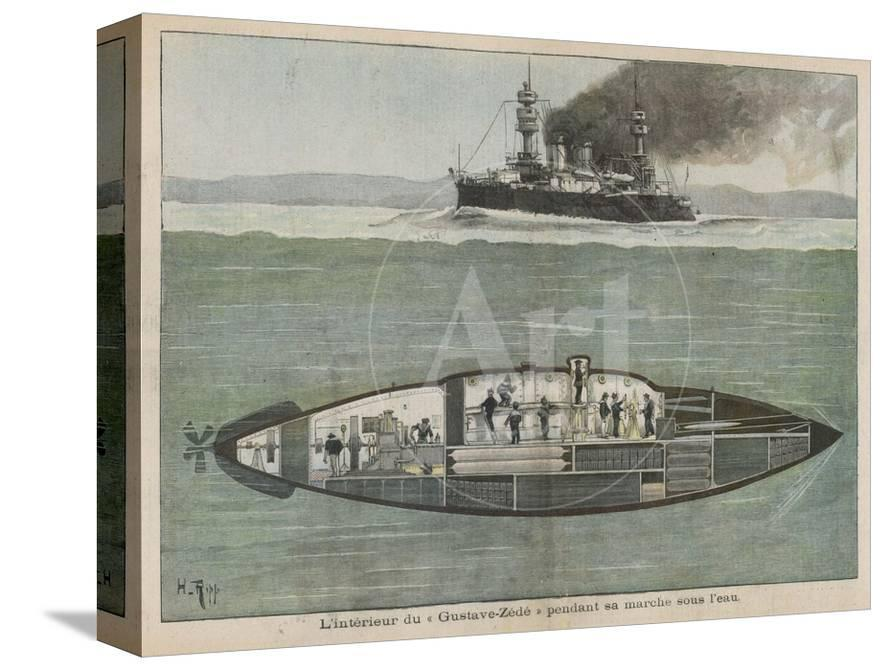 The Gustave Zede, One of the World's First Successful Submarines Performing