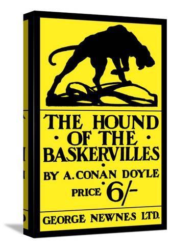 The Hound of the Baskervilles IV Impressão em tela esticada