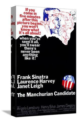 The Manchurian Candidate Stretched Canvas Print