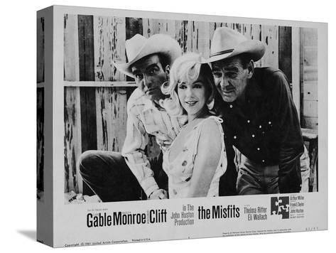 The Misfits, 1961 Stretched Canvas Print