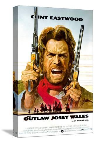 The Outlaw Josey Wales - Movie Poster Reproduction Stampa su tela