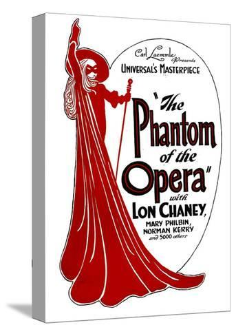 THE PHANTOM OF THE OPERA, 1925. Stretched Canvas Print