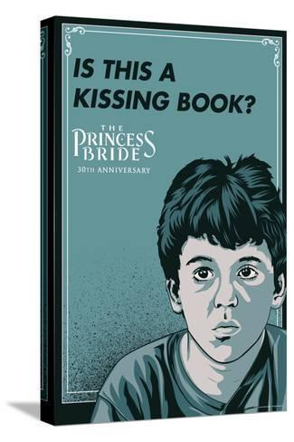The Princess Bride - Is This A Kissing Book? (The Grandson) Stampa su tela