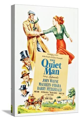 The Quiet Man Stretched Canvas Print