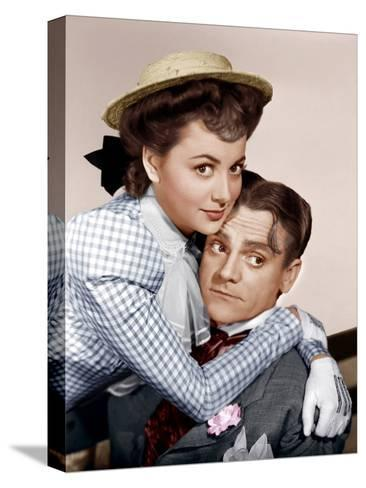 Olivia DeHavilland James Cagney movie poster print 1941 The Strawberry Blonde