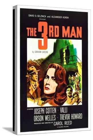 The Third Man Stretched Canvas Print
