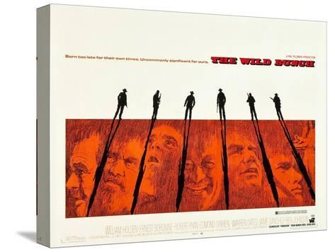 The Wild Bunch Stretched Canvas Print