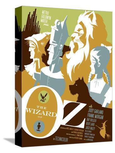 The Wizard of Oz, 1939 Impressão em tela esticada