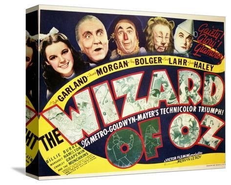 The Wizard of Oz - Lobby Card Reproduction Stampa su tela