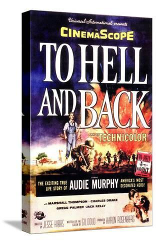 To Hell and Back, 1955 Stretched Canvas Print