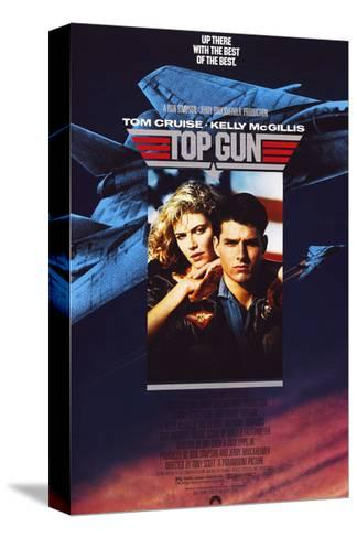 Top Gun - Movie Poster Reproduction Stampa su tela