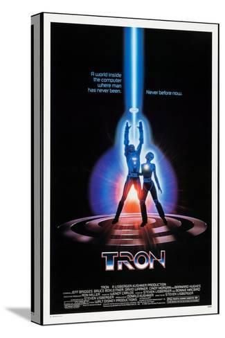 TRON, 1982 Stretched Canvas Print