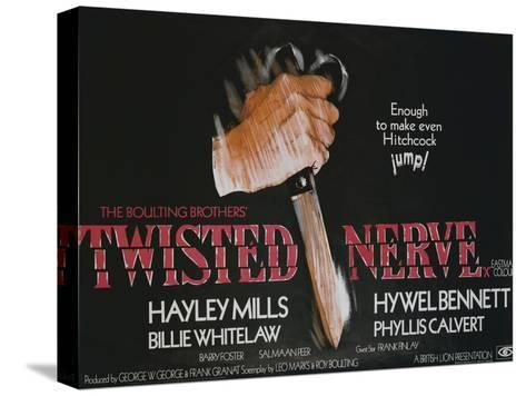 Twisted Nerve Stretched Canvas Print