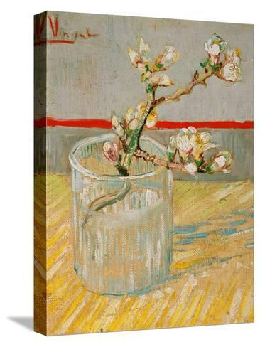 Blossoming Almond Branch in a Glass, c.1888 Pingotettu canvasvedos