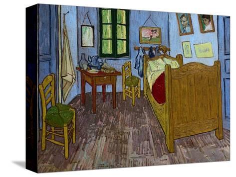 La camera da letto di Van Gogh Stampa su tela di Vincent van Gogh su ...