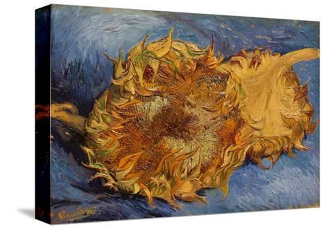 The Sunflowers, 1887 Reproducción de lámina sobre lienzo
