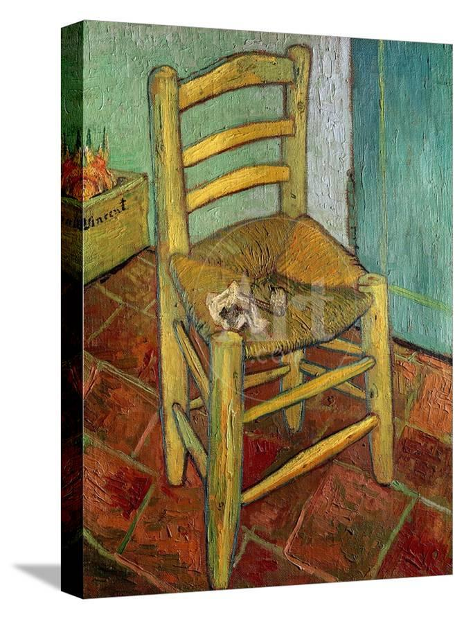 Amazing Van Goghs Chair C 1888 Spiritservingveterans Wood Chair Design Ideas Spiritservingveteransorg