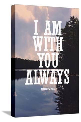 With You Always Reproducción de lámina sobre lienzo