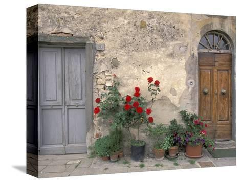 Tuscan Doorway in Castellina in Chianti Italy  sc 1 st  AllPosters & Tuscan Doorway in Castellina in Chianti Italy Stretched Canvas ...