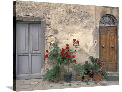 Tuscan Doorway in Castellina in Chianti Italy Premium Photographic Print by Walter Bibikow at AllPosters.com  sc 1 st  AllPosters.com & Tuscan Doorway in Castellina in Chianti Italy Premium Photographic ...