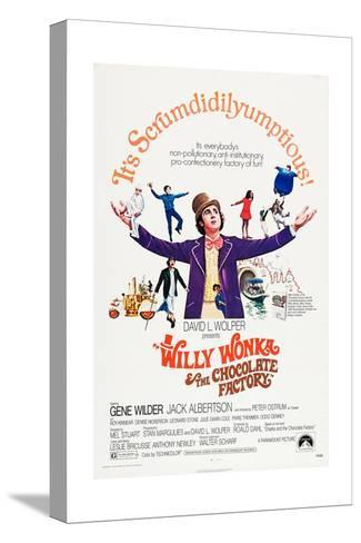 Willy Wonka and the Chocolate Factory Stretched Canvas Print