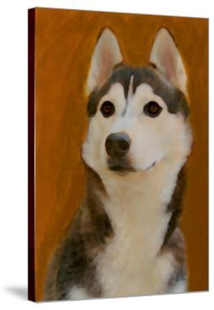 Oil Painting Portrait Of Young Siberian Husky Posters By Yarvet At