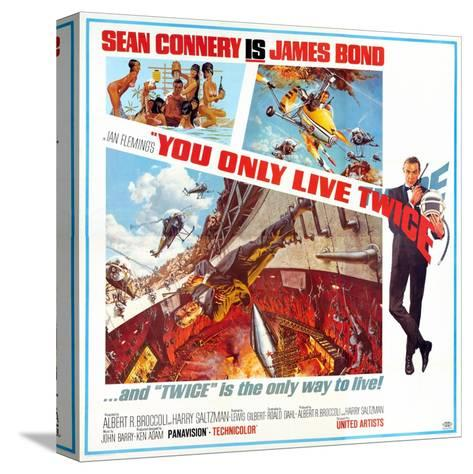 You Only Live Twice, Sean Connery, 1967 Stretched Canvas Print