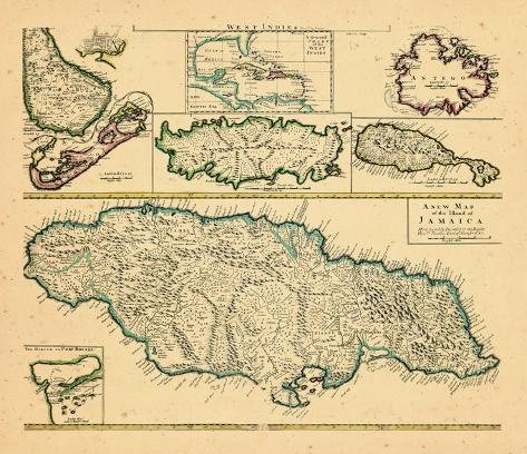 1721, Jamaica, West Indies Giclee Print at AllPosters.com