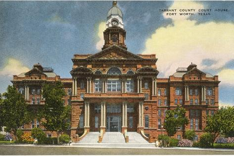 Courthouse Fort Worth Texas Poster At AllPosters