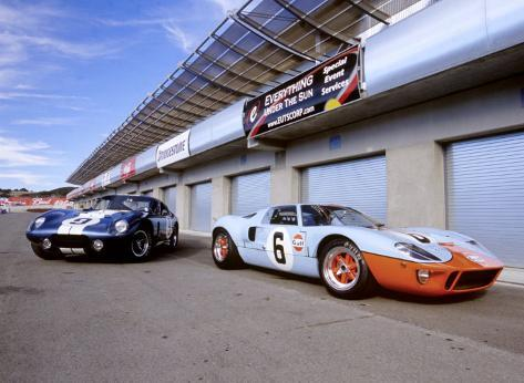 Shelby Daytona Coupe  Ford Gt  Giclee Print By David Newhardt At Allposters Com