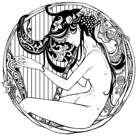 Harp Player Prints By Drakonova At Allposters Com