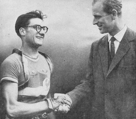 Jose Beyaert of France, Gold Medallist in the 1948 London Olympics ...