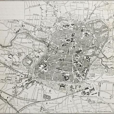 Map Of Old Germany.Old Map Of Nuremberg Germany Posters By Marzolino At Allposters Com
