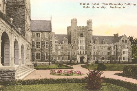 Medical School, Duke University, Durham, North Carolina