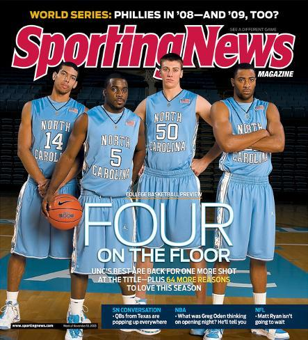 b5646b7320d North Carolina Tar Heels Basketball - November 10