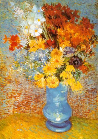 Vase Of Flowers C1887 Posters By Vincent Van Gogh At Allposters