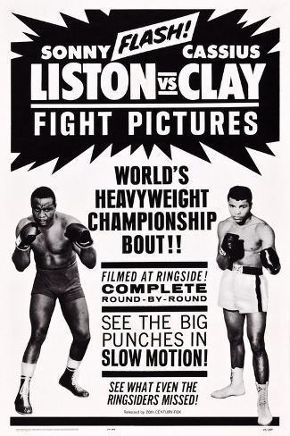 cassius clay sonny liston fight