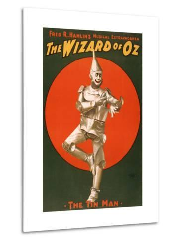 The Tin Man from The Wizard of Oz Art sur métal