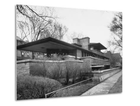 Exterior Of Robie House Designed By Frank Lloyd Wright Kunst Op