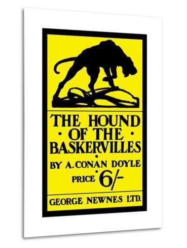 The Hound of the Baskervilles IV Metalldrucke
