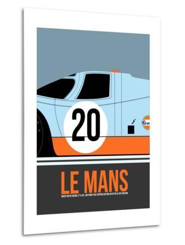 Le Mans Poster 2 Metal Print