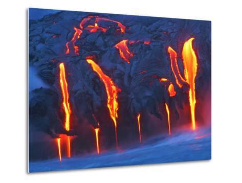 Travel Kilauea Volcano Metal Print