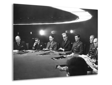 Dr. Strangelove or: How I Learned to Stop Worrying and Love the Bomb Metal Print