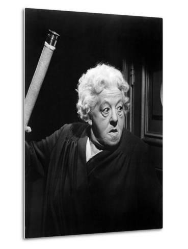 Margaret Rutherford - Murder She Said Metal Print