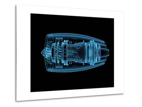 Jet Engine Metal Print